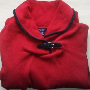 Vintage Chaps Red Sweater Size 3x- great details
